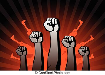 revolutionary agitation - this is an illustration of...