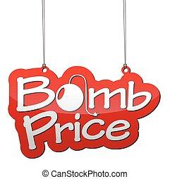 background bomb price