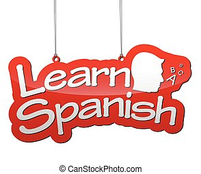 background learn spanish