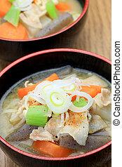 pork miso soup