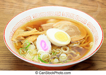 ramen - This is called ramen with Chinese food.