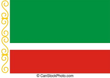 Chechen Republic - This is Chechen Republic flag...