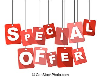 tag special offer - This is red tag special offer