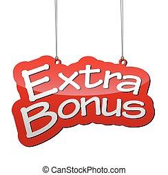 red vector background extra bonus