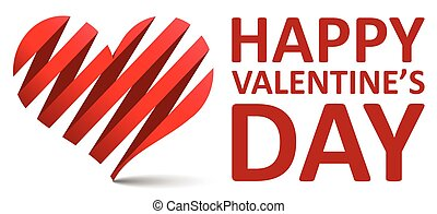 red vector background happy valentines day