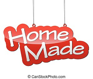 red vector background home made