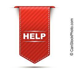 red vector banner design help