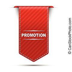 red vector banner design promotion