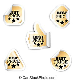 set five stickers - best price
