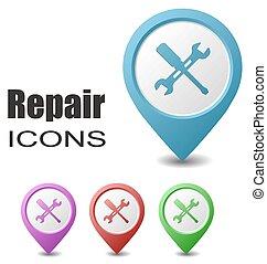 set map pointers repair - This is set map pointers repair