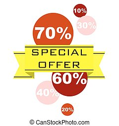 sticker special offer