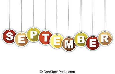 month september vector clipart eps images 10 100 month september rh canstockphoto com free sept clipart free clipart september birthday
