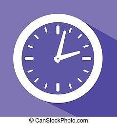 a clock symbol