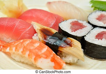 """Sushi - This is the picture of """"Sushi"""". Japanese traditional..."""