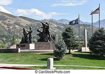This Is The Place Heritage Park in Salt Lake City