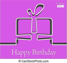 vector background happy birthday