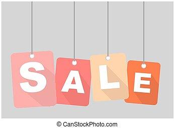 vector banner sale