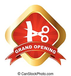 vector sign grand opening - This is vector sign grand...
