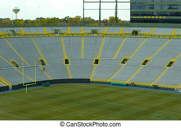 Lambeau Field - This photograph was captured at Lambeau ...