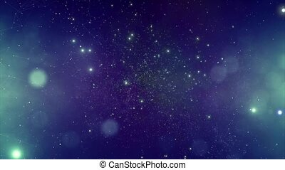 Star cluster and plasma in outer space - This video is about...