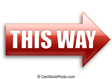 This way arrow