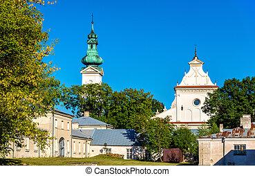 thomas, 使徒, ポーランド, -, 大聖堂, 復活, st. 。, zamosc