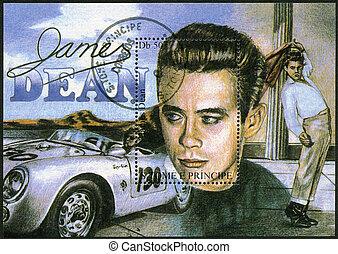 thomas, dekan, 1994, briefmarke, james, str., -, st.thomas,...