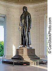 thomas jefferson, memorial, em, c.c. washington