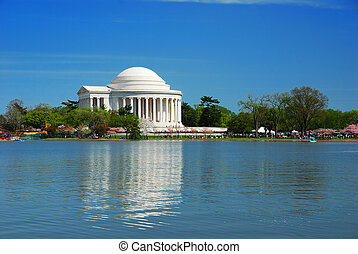 Thomas Jefferson national memorial, Washington DC - Thomas...