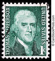 Thomas Jefferson the third President of the United States -...