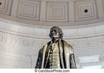 thomas, washington, jefferson, dc, commémoratif
