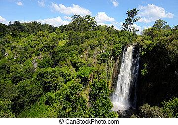 Thomson's Falls, Kenya - Big Thomson's Falls. Africa, Kenya