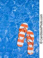 thongs, piscina