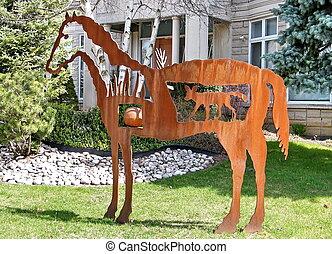 Thornhill horse sculpture 2010