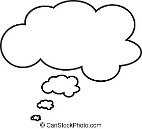 Thought and Speech bubble - Thought or speech bubble. Could...