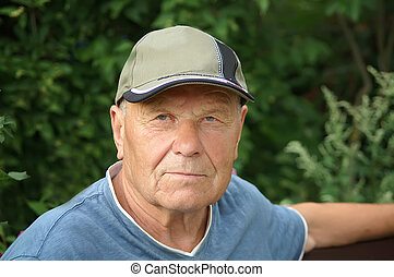 Thoughtful Senior Portrait