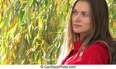 Thoughtful Young woman II