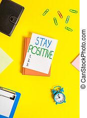 thoughts, text, pozdvihnout, význam, messages., skutečný, doklady, utišit, skřipec, čistý, být, optimistický, noviny, zavázat se, rukopis, pojem, positive.