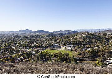 Thousand Oaks in Ventura County California - Suburban...