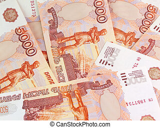 Thousand's Russian roubles