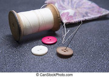 Thread and needle