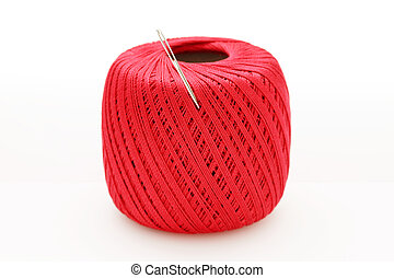 thread and sewing needle