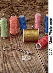 Instruments of repairman clothing