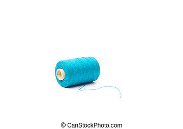 Thread on a white background