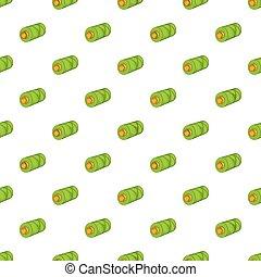 Thread pattern, cartoon style