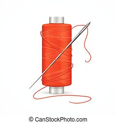 Thread Spool. Vector