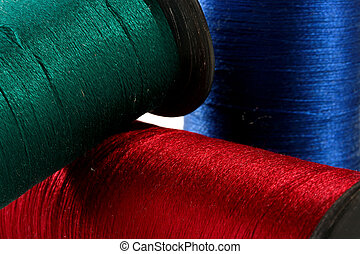 Threads for an embroidery