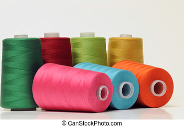 Threads - Group of colorful threads