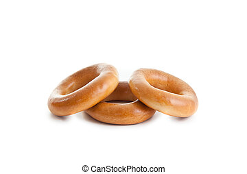 three bagels composition