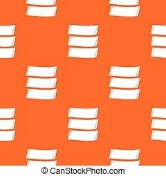 Three banners pattern seamless - Three banners pattern...